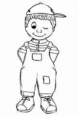 Coloring Boy Pages Boys Malchik Soloring Coloringtop sketch template