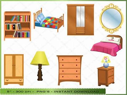 Bedroom Clipart Items Master Clip Furniture Bathroom