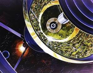 En images : les colonies spatiales imaginées par la NASA ...