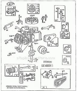 Briggs  U0026 Stratton Engine Parts Manual
