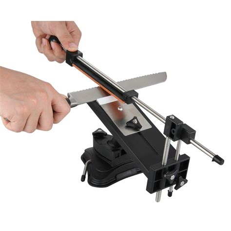 knife sharpener sharpening kitchen system angle professional pro tools kits fixed edge fix ruixin upgraded grindstones version chefs stones 2nd