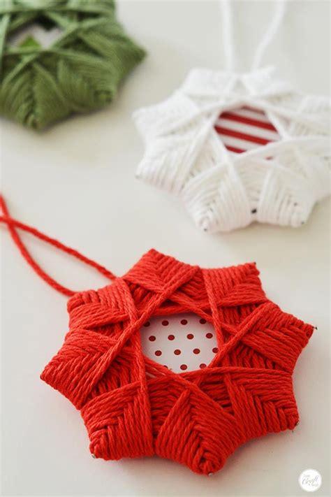 christmas star ornaments 29 diy ornament craft ideas how to make ornaments