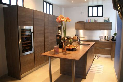 cuisine design avec ilot central cuisine moderne avec ilot central
