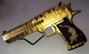 Gold Tiger Desert Eagle