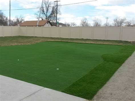 putting in a new lawn putting green installation new south memphis tennessee