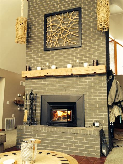 sponge painting brick fireplace 17 best images about fireplace overhaul on