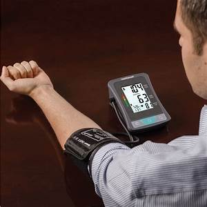 Healthsmart Upper Arm Blood Pressure Monitor With Lcd