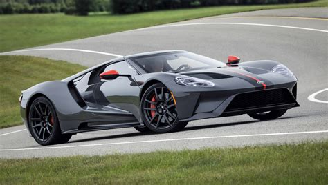 2019 Ford Gt Adds Lightweight Carbon Series, Gets ,000