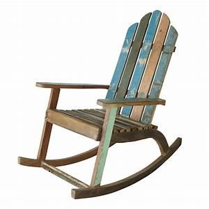 Rocking Chair Maison Du Monde : recycled wood rocking chair maisons du monde ~ Teatrodelosmanantiales.com Idées de Décoration