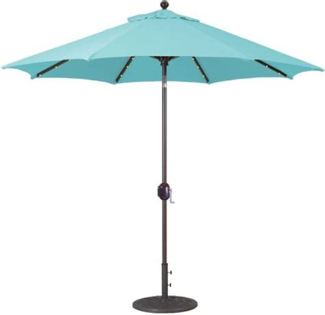 9 aluminum led patio umbrellas