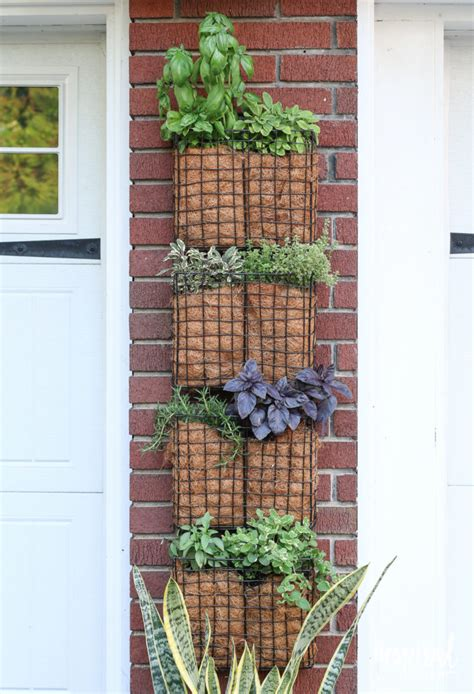 creative diy vertical garden ideas