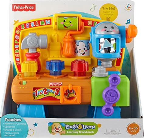 Fisherprice Laugh & Learn Learning Workbench  Import It All