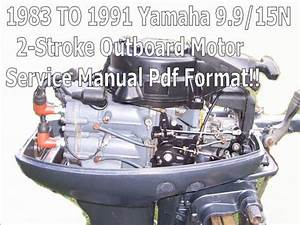 Yamaha 9 9 15n Outboard 2-stroke Service Manual