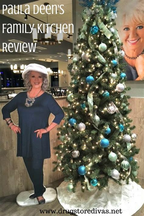 Paula Deen's Family Kitchen Review  Drugstore Divas