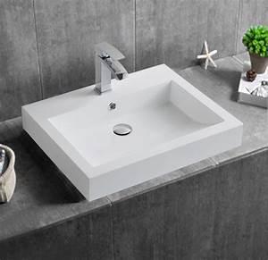 Vasque à Poser Brico Depot : aufsatzwaschbecken f r das bad g nstig online kaufen ~ Dailycaller-alerts.com Idées de Décoration