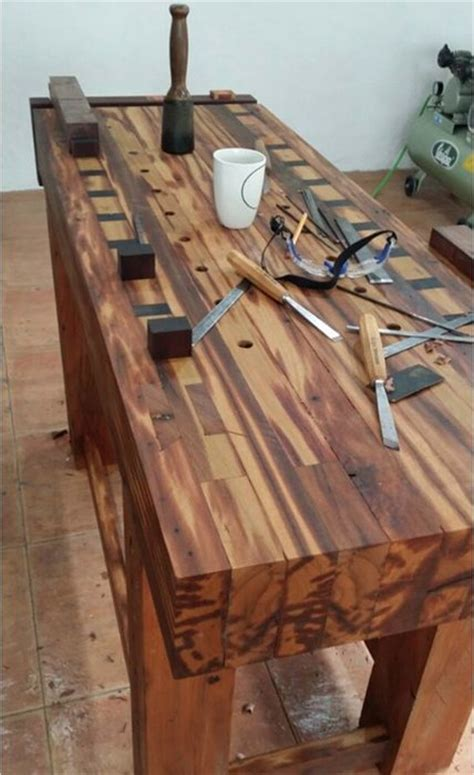 workbench  benji reyes  lumberjockscom woodworking