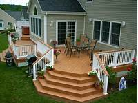design a deck Outdoor : Creative Outdoor Deck Ideas With Bar And ...