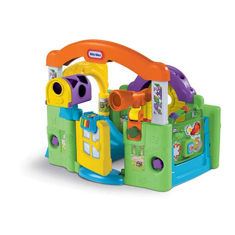 tikes activity garden baby playset amazon toys grow develop helps center tykes play infant crawl through piano infants mailbox flower