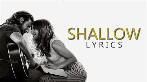 Lady Gaga Ft Bradley Cooper  Shallow (lyrics) Youtube