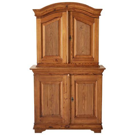 antique pine kitchen hutch cabinet  sweden  upper plate rack  stdibs