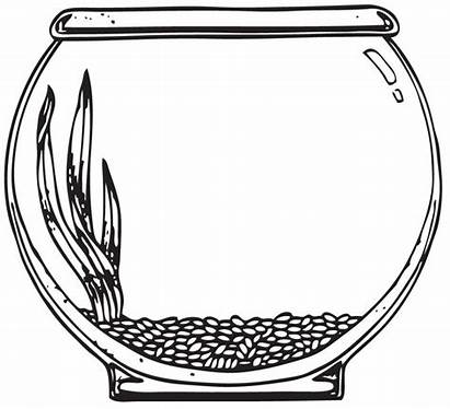 Bowl Fish Clip Clipart Clipartpanda Coloring Terms