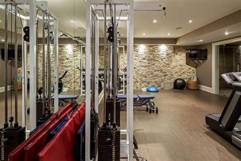 home gym wall fan home gym contemporary with weight room