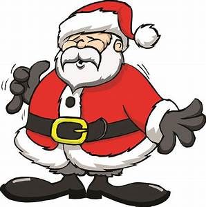 Santa Cartoon Images