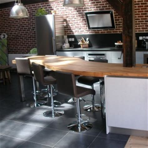 plan de travail cuisine bois brut cuisine flip design boisflip design bois