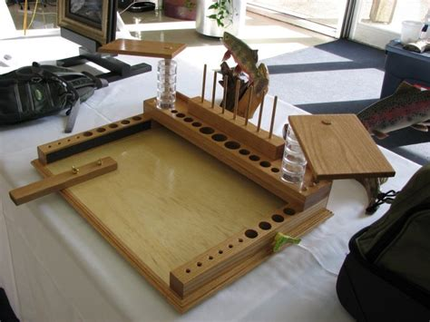 fly tying bench woodworking plans pdf diy fly tying bench plans field desk plans