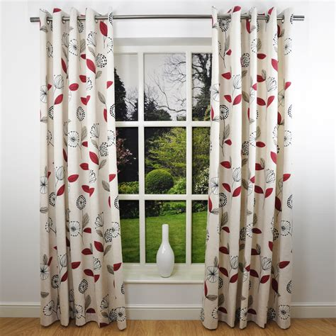 4 types of modern floral curtains abrandylook