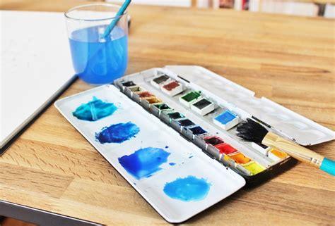 Commentaire Preparer Une Couleur De Peinture Diy Une Aquarelle Constellation Mes Derni 232 Res Lubies