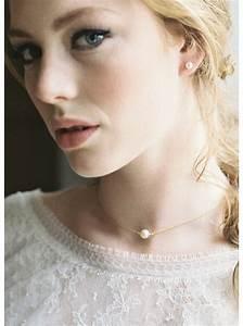 quotemiliaquot collier de mariee perle avec bijou robe dos nu With boutique robe de mariée avec collier