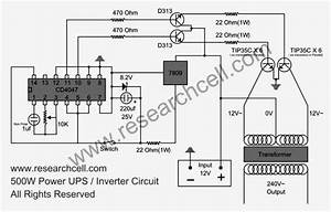 Electrical Inverter Wiring Diagram