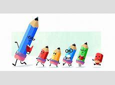 Google's Teacher's Day Doodle Shows Happy Pencils