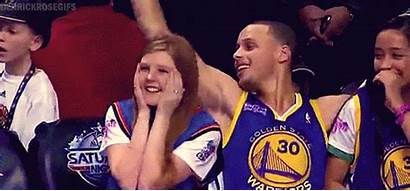 Curry Steph Stephen Giphy Warriors Dell Golden