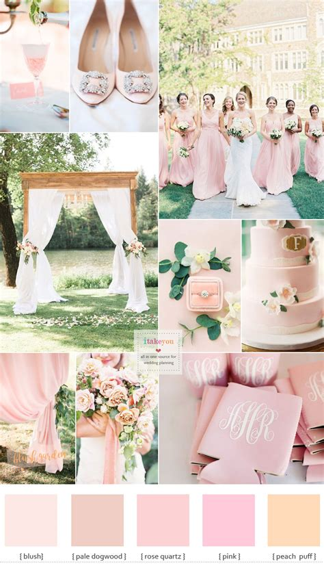 blush pink wedding theme blush bridesmaid dresses for a