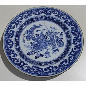 Assiette Bleu Canard : assiette en porcelaine d cor canard moinat sa antiquit s d coration ~ Teatrodelosmanantiales.com Idées de Décoration