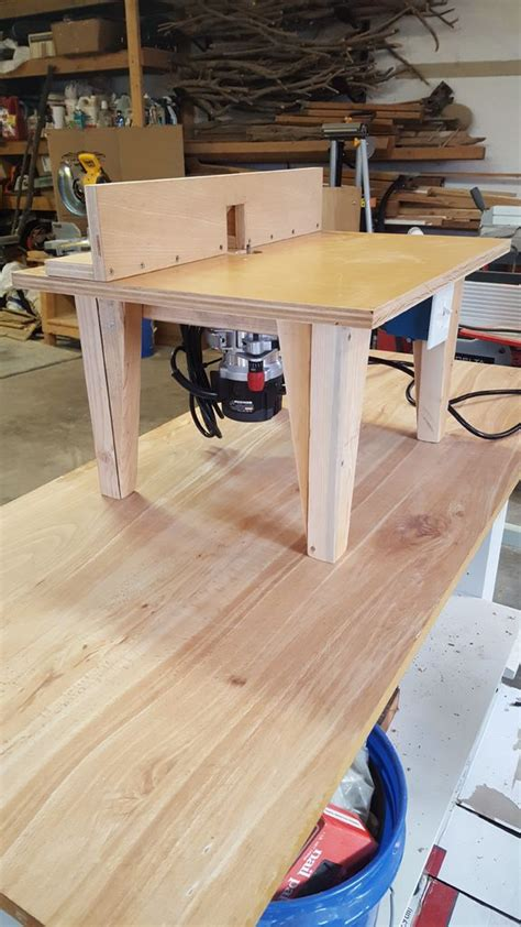 diy router table  steps  pictures