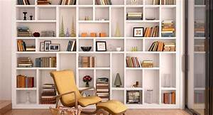 How to organize your apartment with big vertical shelves for Organizing small apartments