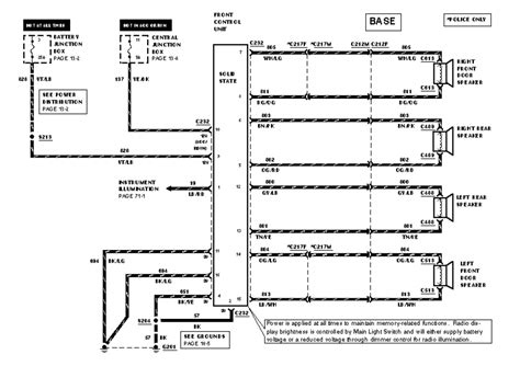 1998 1999 Lincoln Town Car Wiring Diagram by 1994 Ford Mustang 5 0l Mfi Ho Ohv 8cyl Repair Guides