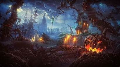 Halloween Spooky Photoshop Backgrounds Terror Wallpapers Scary