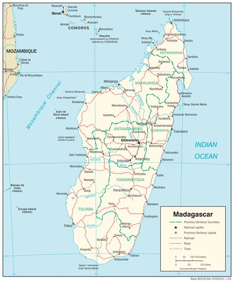 madagascar maps perry castaneda map collection ut
