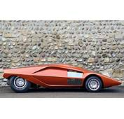 Car Concept Cars Lancia Stratos HF Zero Bertone