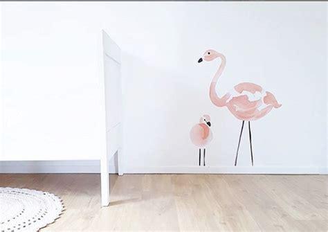 babykamer flamingo thema minimenl