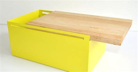 my kilos bread box steel bread box yellow by my kilos monoqi products i bread boxes and steel