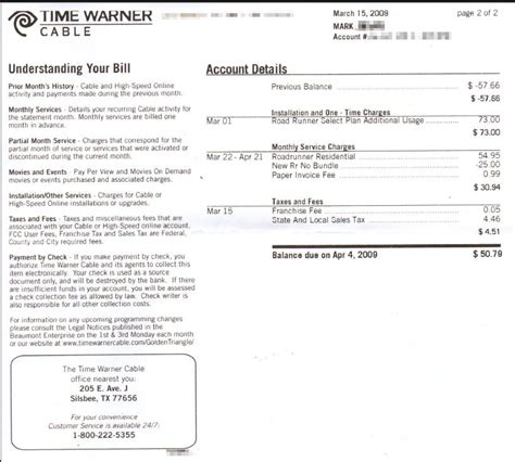 time warner cable bill pay images