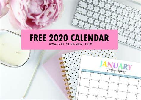 printable  calendar  beautiful colorful