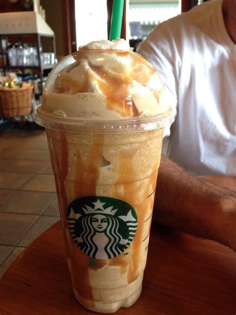 Caramel frappuccino extra caramel, extra shot expresso   Yelp