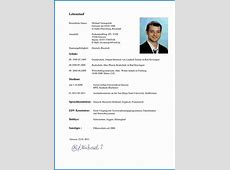 lebenslauf download Business Template