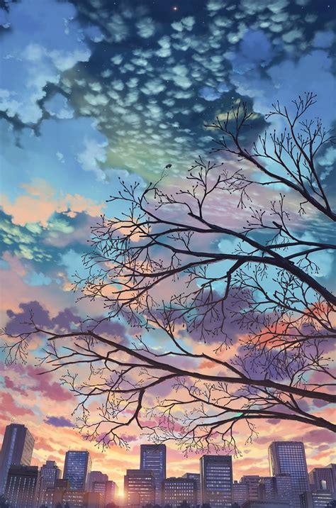 artist pixiv id    anime scenery anime